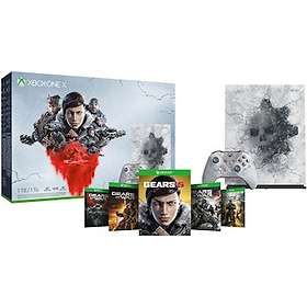Microsoft Xbox One X 1To (+ Gears 5) - Limited Edition