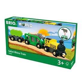 BRIO World Safari Noshörningståg 33964