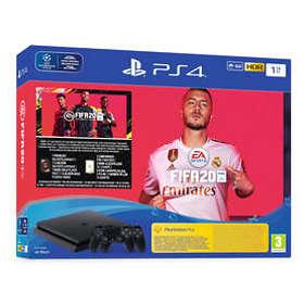 Sony PlayStation 4 (PS4) Slim 1TB (inkl. FIFA 20 + 2nd DualShock)