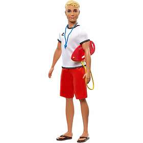 Barbie Ken Lifeguard Doll FXP04