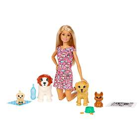 Barbie Doggy Daycare Doll & Pets FXH08