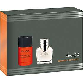Van Gils Basic Instinct edt 40ml + Deostick 75ml for Men