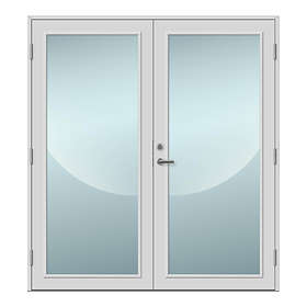 Nordiska Fönster Parytterdörr Råå Glas Standard 14x20cm