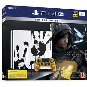 Sony PlayStation 4 (PS4) Pro 1TB (inkl. Death Stranding) - Limited Edition