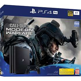 Sony PlayStation 4 Pro 1To (+ Call of Duty: Modern Warfare)