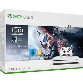Microsoft Xbox One S 1TB (ink. Star Wars Jedi Fallen Order)