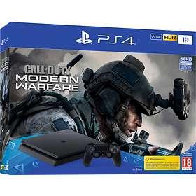 Sony PlayStation 4 (PS4) Slim 1TB (inkl. Call of Duty: Modern Warfare)