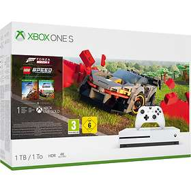 Microsoft Xbox One S 1To (+ Forza Horizon 4 + Lego Speed Champion)