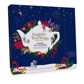 English Tea Shop Organic Tea Blue Julekalender 2019