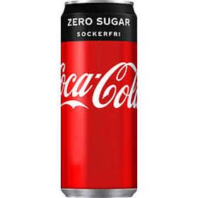 Coca-Cola Vanilla Zero Burk 0,33l 20-pack