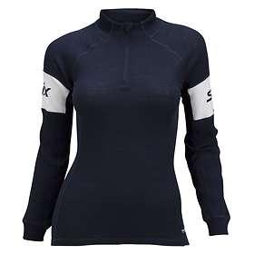 Swix RaceX Bodywear Warm LS Shirt Half Zip (Dame)