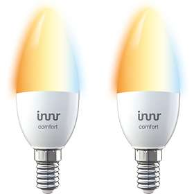 Innr LED Candle Tunable White RB 248 T-2 470lm E14 5,8W 2-pack (Dimbar)