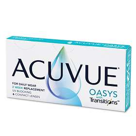 Johnson & Johnson Acuvue Oasys with Transitions (6-pack)
