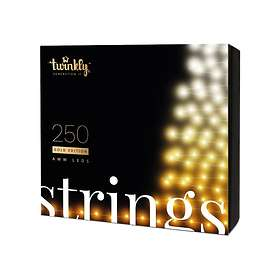 Twinkly Strings GOLD 250 LED Generation II (20m)
