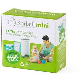 Korbell Mini Blöjhink Refill 3-pack