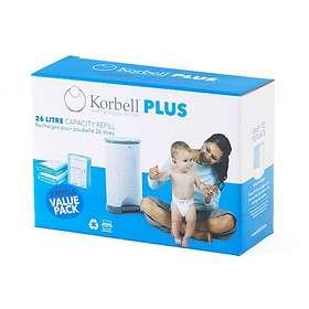 Korbell Plus Blöjhink Refill 3-pack