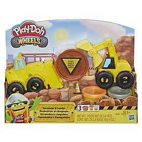 Hasbro Play-Doh Wheels Excavator & Loader