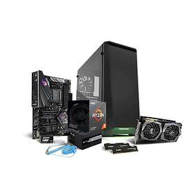 Komplett PC i delar Ryzen Value Gamer 3600X - 3,8GHz HC 16GB 250GB