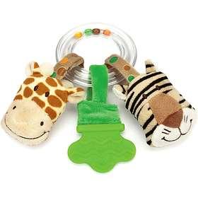 Teddykompaniet Diinglisar Wild Ringskallra Giraff & Tiger