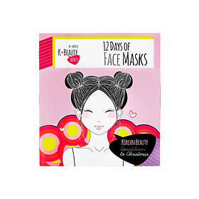 K-Beauty Secrets 12 Days Of Face Masks Julekalender 2019