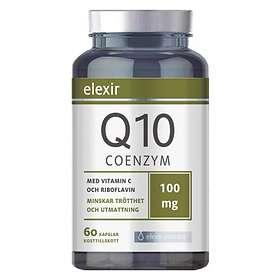 Elexir Pharma Coenzyme Q10 100mg 60 Kapslar