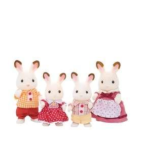 Epoch Sylvanian Families Chocolate Rabbit Family