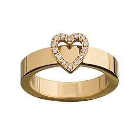 Edblad Glow Heart Gold Ring (Dam)