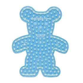Hama Maxi 8204 Transparent Pegboard - Teddybear