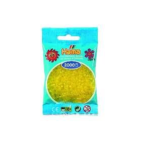 Hama Mini 501-14 Beads (Translucent Yellow)