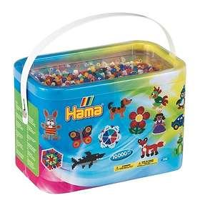 Hama Midi 202-00 Beads In Bucket 10000 (Mix 00)