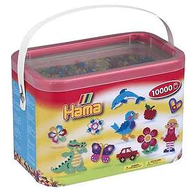 Hama Midi 202-53 Beads In Bucket 10000 (Mix 53)