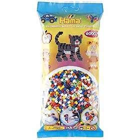 Hama Midi 205-00 Beads In Bag 6000 (Mix 00)