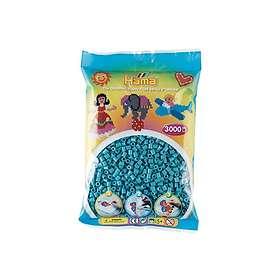 Hama Midi 201-31 Beads In Bag 3000 (Turquoise)