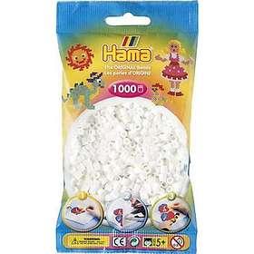 Hama Midi 207-01 Beads In Bag 1000 (White)