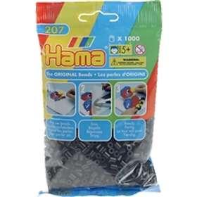 Hama Midi 207-18 Beads In Bag 1000 (Black)