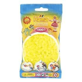 Hama Midi 207-34 Beads In Bag 1000 (Neon Yellow)
