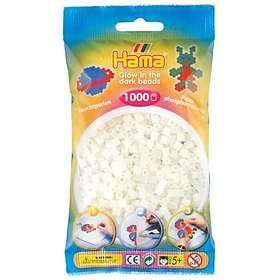 Hama Midi 207-55 Beads In Bag 1000 (Glow In The Dark - Green)