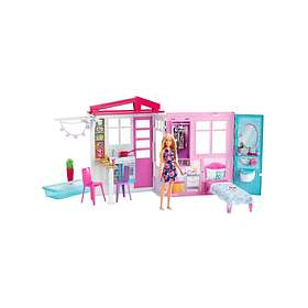 Barbie House And Doll FXG55