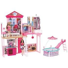 Barbie House & Pool FCK15