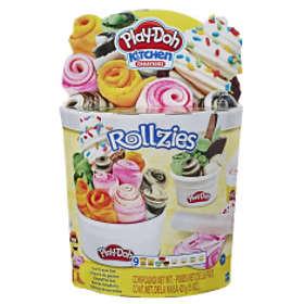 Hasbro Play-Doh Rollzies Ice Cream Set