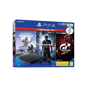 Sony PlayStation 4 (PS4) Slim 500GB (ml. PlayStation Hits V2)