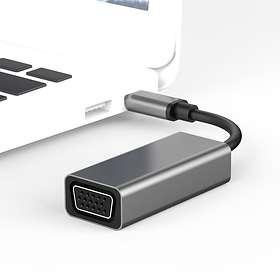 NÖRDIC USB C - VGA M-F Adapter