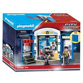 Playmobil City Action 70306 Police Station Play Box