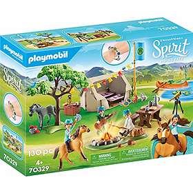 Playmobil Spirit Riding Free 70329 Summer Campground