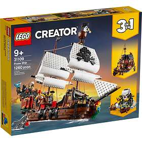 LEGO Creator 31109 3-in-1 Piratskepp