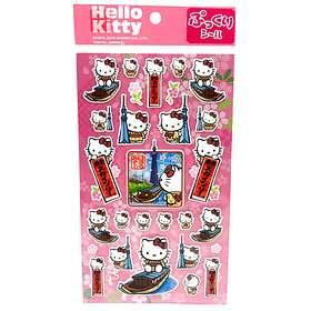 Sanrio Hello Kitty 3D Stickers Rosa Blommor 29st