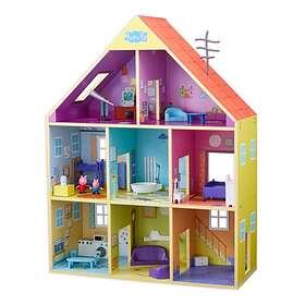 Mattel Peppa Pig Peppa's Wooden Playhouse