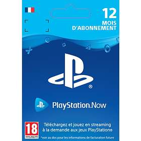 Sony Playstation Now 12 Months Subscription Card