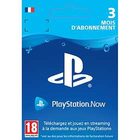 Sony Playstation Now 3 Months Subscription Card