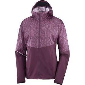Salomon Agile Full Zip Hoodie Jacket (Dam)